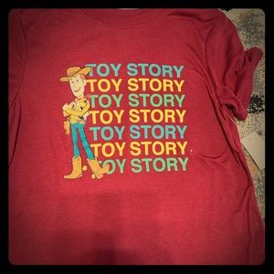 Woman/girls toy story 4 tee